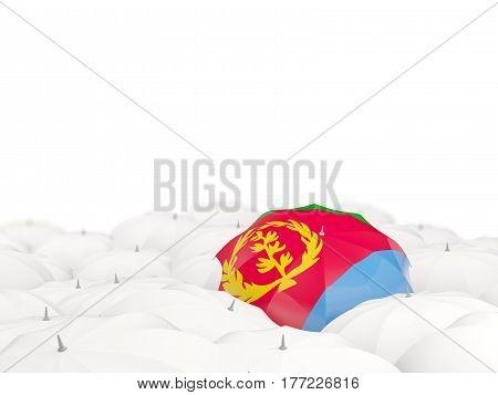 Umbrella With Flag Of Eritrea