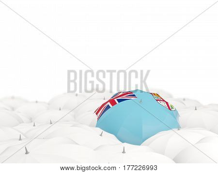 Umbrella With Flag Of Fiji