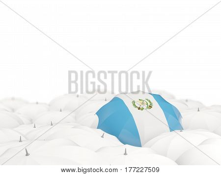 Umbrella With Flag Of Guatemala