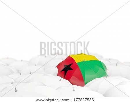 Umbrella With Flag Of Guinea Bissau