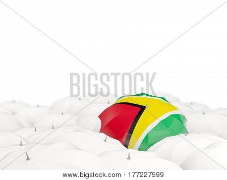 Umbrella With Flag Of Guyana