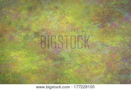 Greenish Dominant background    3D Render
