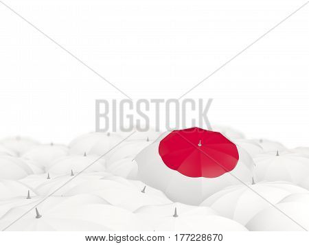 Umbrella With Flag Of Japan