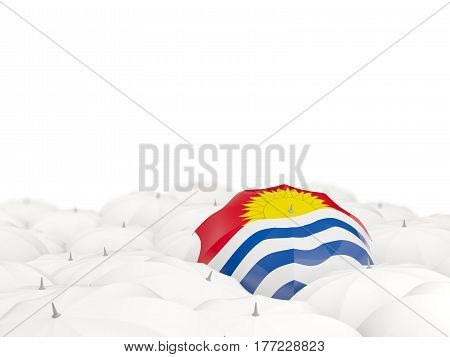 Umbrella With Flag Of Kiribati