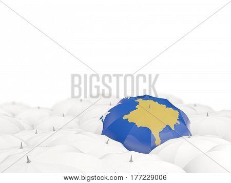 Umbrella With Flag Of Kosovo