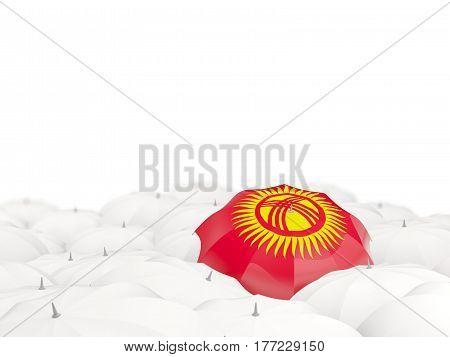 Umbrella With Flag Of Kyrgyzstan