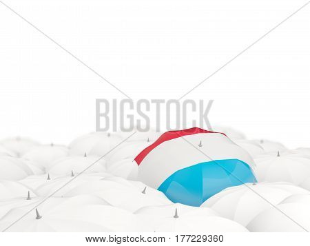 Umbrella With Flag Of Luxembourg