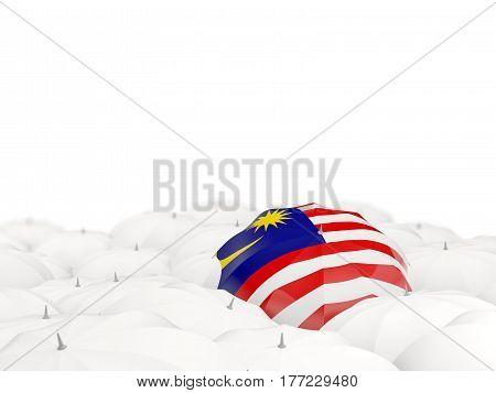 Umbrella With Flag Of Malaysia