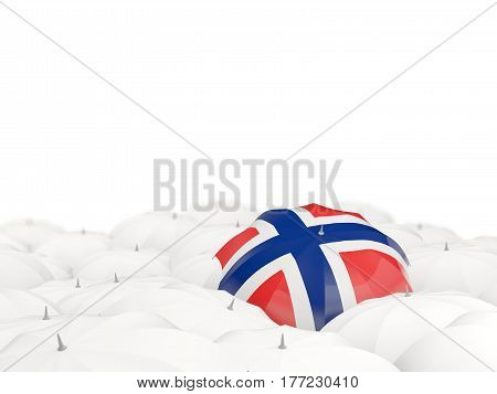 Umbrella With Flag Of Norway