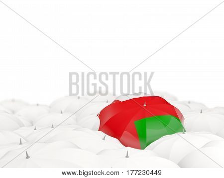 Umbrella With Flag Of Oman