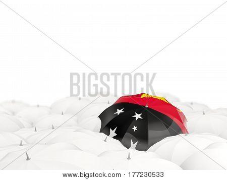 Umbrella With Flag Of Papua New Guinea