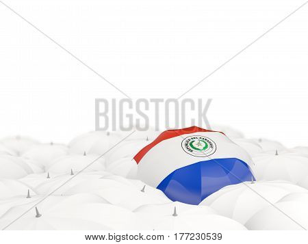 Umbrella With Flag Of Paraguay