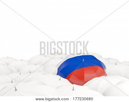 Umbrella With Flag Of Russia