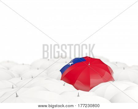 Umbrella With Flag Of Samoa