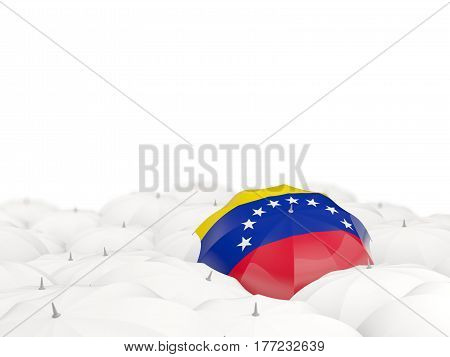 Umbrella With Flag Of Venezuela