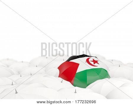 Umbrella With Flag Of Western Sahara