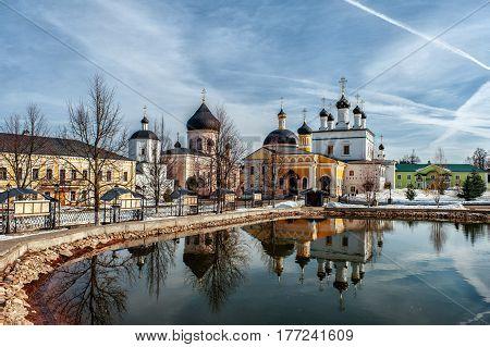 Voznesenskaya Davidova Pustyn Chekhov district of Russia, historical and cultural monument of history