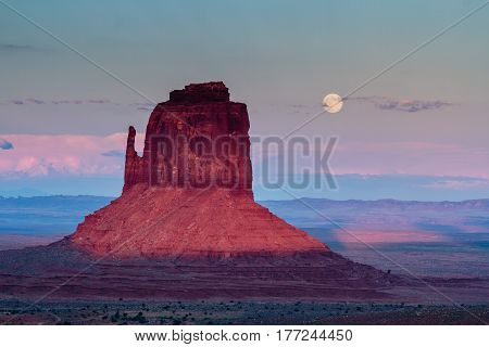 Monument Valley is well known for dramatic Western landscapes and Native Americans.