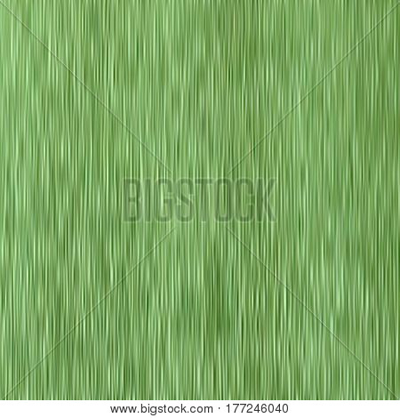 A green crepe paper background. Corrugated green paper. Vector