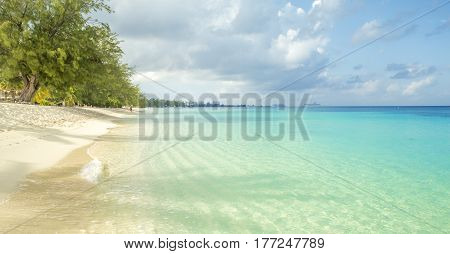 Seven Mile Beach on Grand Cayman island Cayman Islands