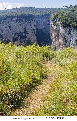 Trail To Itaimbezinho Canyon