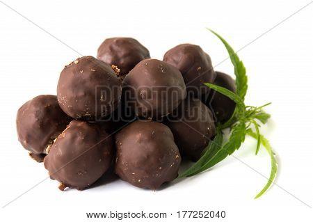 Chocolate Truffles With Marijuana