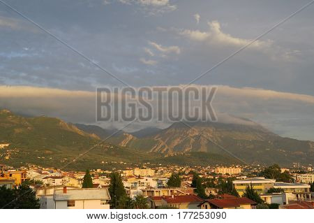 Suburban area (Shushan) near the Bar-city, Montenegro