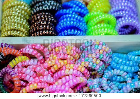 blurred photo, Blurry image, Spiral elastic rubber, background