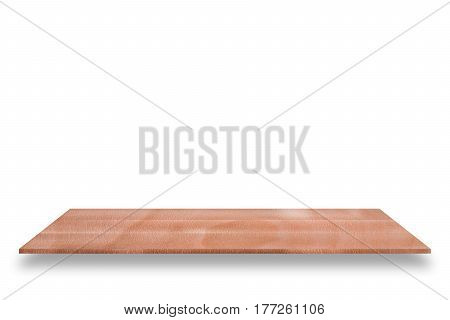 Shelf storage wood exquisite isolated on white background used for organizer display or montage your products.