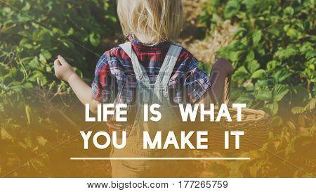 Life Motivation Positivity Attitude Possible Graphic Words