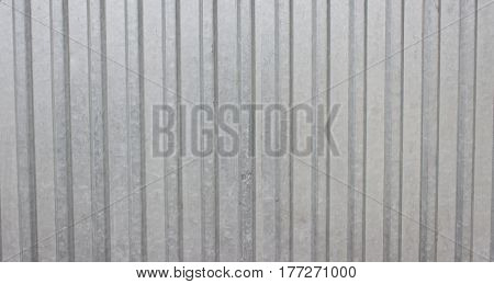 Grey Metal Wall Can Use For Background