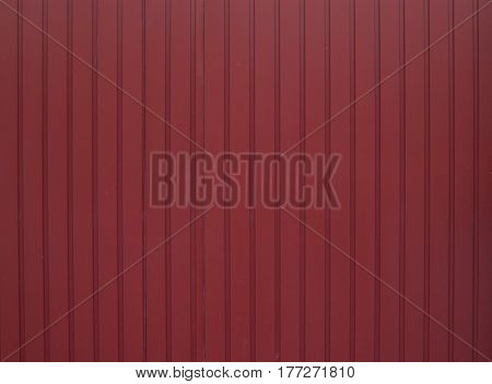 Red Metal Wall Can Use For Background
