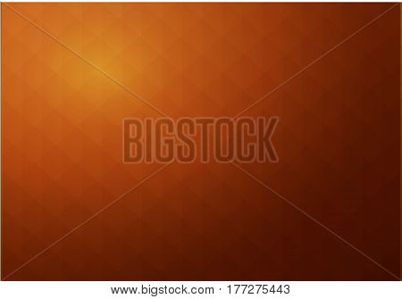Abstract geometric background bronze stylized looks like brown parchment texture