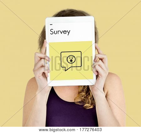 Customer Service Feedback Survey Icon