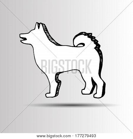 dog chihuahua vector cartoon illustration puppy animal