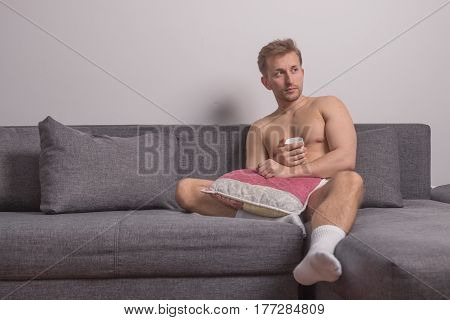 One Young Man Only, Sitting Sofa Bed Pillows