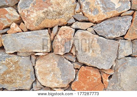 stone wall photo texture - exterior architecture background