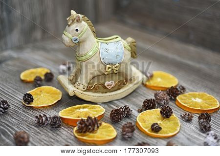 Moneybox In The Form Of A Horse.