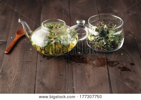 Brewing Medicine Herbal Tea