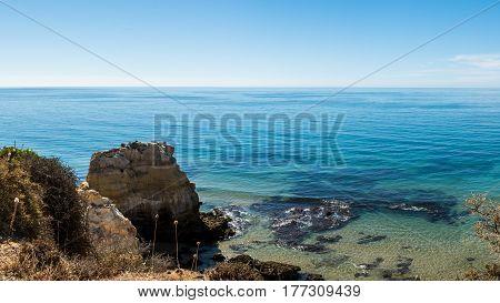 Praia Da Rocha In Portimao, Algarve