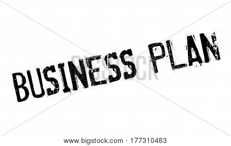 Business Plan rubber stamp. Grunge design with dust scratches. Effects can be easily removed for a clean, crisp look. Color is easily changed.