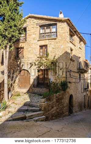 Rural house in Calaceite in Aragon Spain