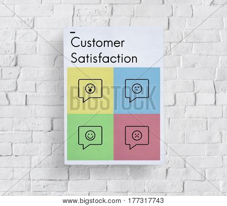 Customer Service Satisfaction Feedback Icon