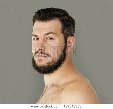Man standing and posing for photoshoot poster