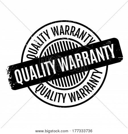 Quality Warranty rubber stamp. Grunge design with dust scratches. Effects can be easily removed for a clean, crisp look. Color is easily changed.