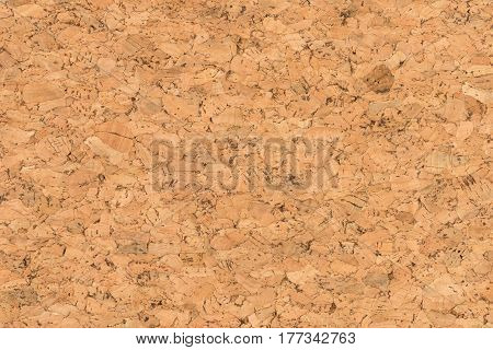 Close Up Background and Texture of Cork Board Wood Surface Nature Product Industrial