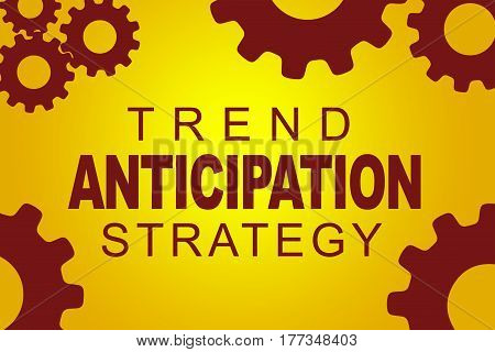 Trend Anticipation Strategy Concept