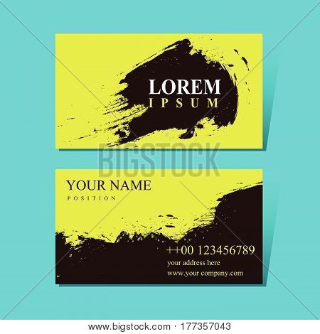 Attractive Business Card Design Template