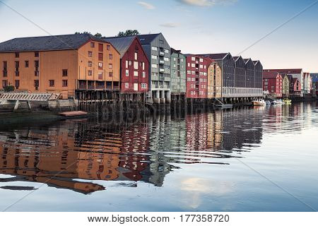 Trondheim, Norway. Coastal View