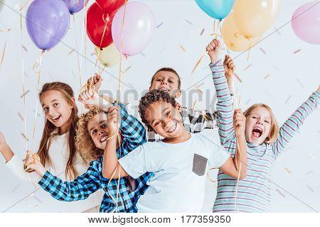 Kids Laughing And Having Fun